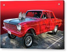 Acrylic Print featuring the photograph Nasty by Bill Dutting