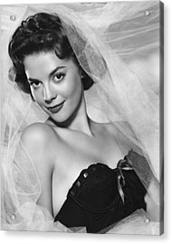 Natalie Wood, Warner Brothers, 1950s Acrylic Print by Everett