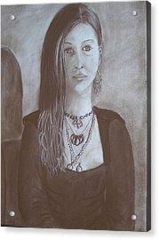 Natasha Acrylic Print by Bonita Bruch