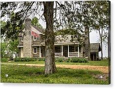 Nathan Bedford Forrest Boyhood Home 4 Acrylic Print by Douglas Barnett