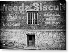 National Biscuit Company Acrylic Print by Paul Bartoszek
