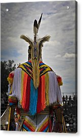 Acrylic Print featuring the photograph Native Canadian by Nick Mares