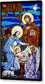 Nativity At Valley Ranch Acrylic Print