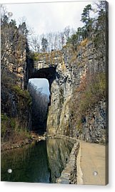 Natural Bridge Virginia Acrylic Print
