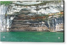 Nature's Painting Acrylic Print by Michael Carrothers