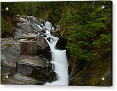 Natures Steps Acrylic Print by Robert  Torkomian