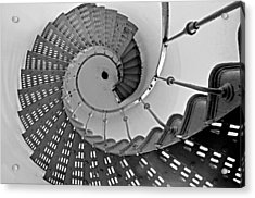 Nautilus Stairs Acrylic Print by Sandy Fisher