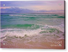 Acrylic Print featuring the photograph Navarre Sunset by Jeanne Forsythe