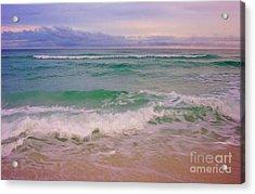 Navarre Sunset Acrylic Print by Jeanne Forsythe