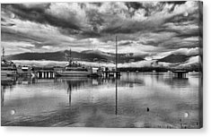 Navy Lookout Acrylic Print by Douglas Barnard