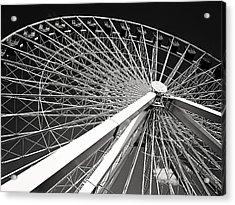 Navy Pier Ferris Wheel Acrylic Print