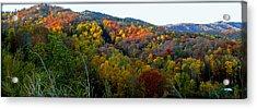 Nc Blue Ridge Mountains Acrylic Print