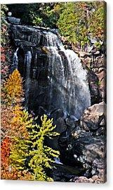 Nc Waterfalls Acrylic Print