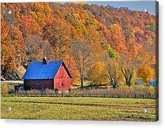 Near Bedford Indiana Acrylic Print by Marsha Williamson Mohr