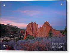 Near Sunset Acrylic Print