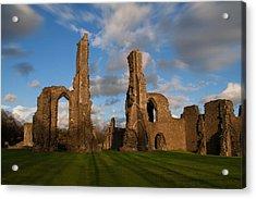 Neath Abbey Ruins Acrylic Print by Julie L Hoddinott