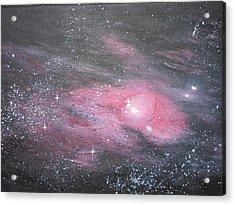 Nebula 1 Acrylic Print by Siobhan Lawson