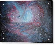 Nebula 2 Acrylic Print by Siobhan Lawson