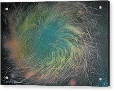 Nebula Abstract Acrylic Print by DC Decker