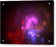 Nebula Acrylic Print by Steve K