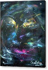 Nebula's Face Acrylic Print