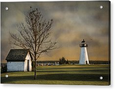 Ned's Point Light Acrylic Print