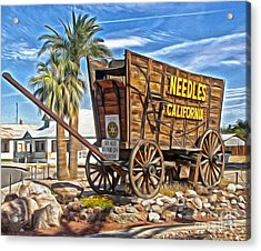 Needles California Acrylic Print by Gregory Dyer