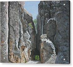 Needles Highway Acrylic Print