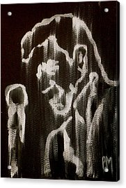Negative Streak Acrylic Print by Pete Maier