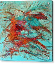 Neither Fish Nor Fowl Acrylic Print by Gray Jacobik