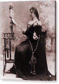 Nellie Melba 1859-1931 Among The Top Acrylic Print by Everett