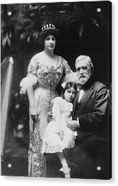Nellie Melba 1859-1931, Popular Opera Acrylic Print by Everett