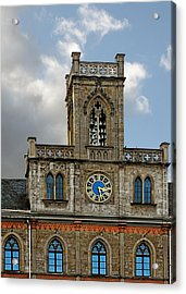 Neo-gothic Weimarer City Hall Acrylic Print by Christine Till