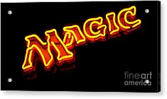Neon Magic Acrylic Print by Steven Milner