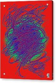 Neon Poster. Acrylic Print
