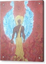 Nephilim Acrylic Print by Violette Meier