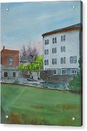 Neshkoro Mill And Dam Acrylic Print