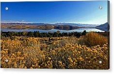 Nevada Lake At Dawn Acrylic Print