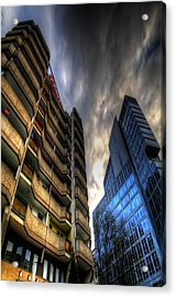 New And Old Living Acrylic Print by Nathan Wright