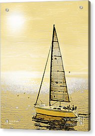 New Dawn Acrylic Print by Artist and Photographer Laura Wrede