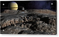 New Discoveries Acrylic Print by David Robinson