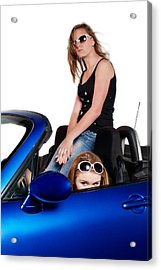 Acrylic Print featuring the photograph New Drivers by Jim Boardman
