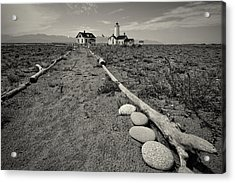 New Dungeness Lighthouse Acrylic Print