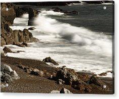 Acrylic Print featuring the photograph New England Seashore 2 by Raymond Earley