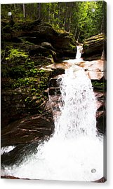 New Hampshire Waterfall Acrylic Print