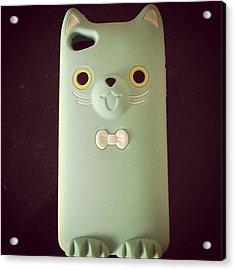 #new #iphone #case #4s #iphonesia #cute Acrylic Print
