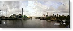 New London - Old London Acrylic Print by Keith Sutton