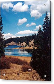 New Mexico Lake Acrylic Print