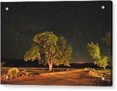 New Mexico Stars Acrylic Print by Mark Fesgen