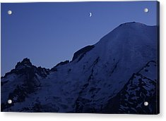 New Moon Blues Acrylic Print